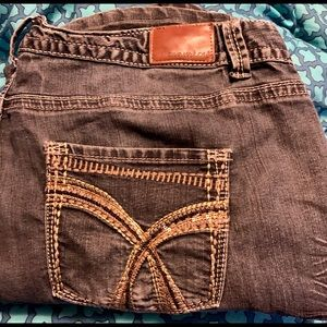Maurices size 24 boot cut jeans
